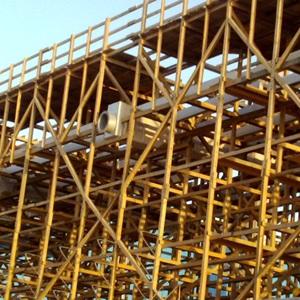 Конструкция из пропитанной древесины