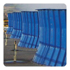 Диффузор и палуба градирни из стеклопластика ПАС