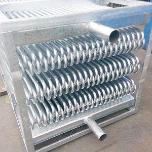 Теплообменники из гальванизированной стали